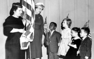 Students at Ludlow School, 1962