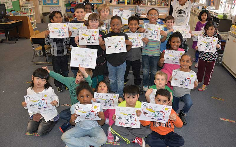 Shaker Heights elementary students learn Chinese through 5th grade