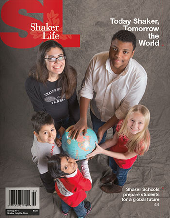Cover of Shaker Life Spring 2014
