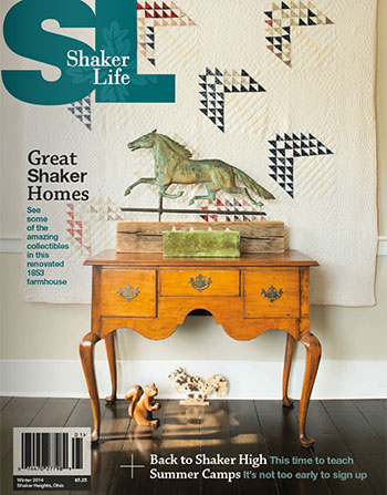 Cover of Shaker Life Winter 2014