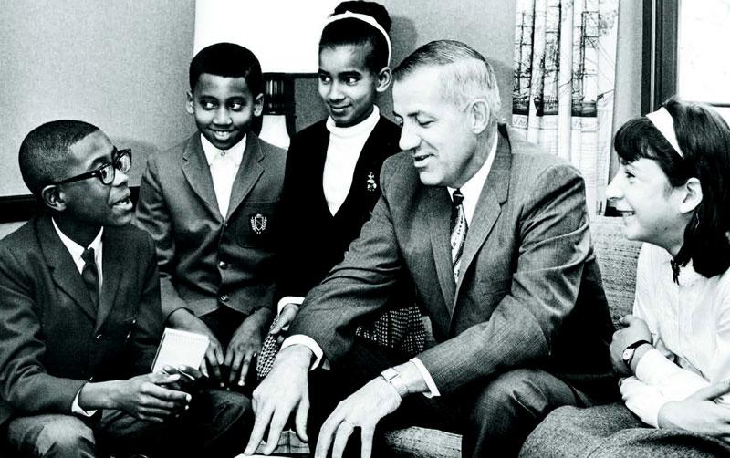 Dr. John Lawson, former superintendent of Shaker Schools