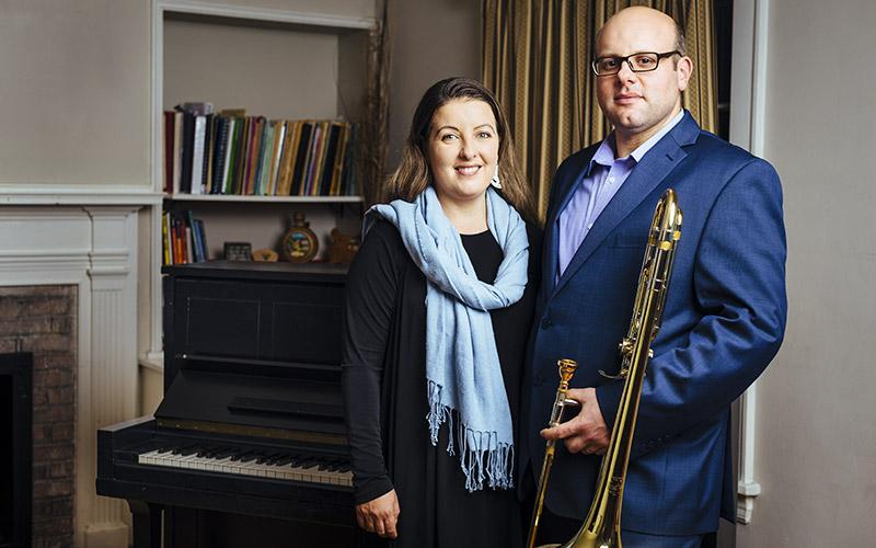 Ralitsa Georgieva-Smith and Jason Smith