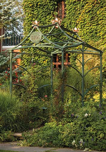 A forged steel arbor by Marte Cellura