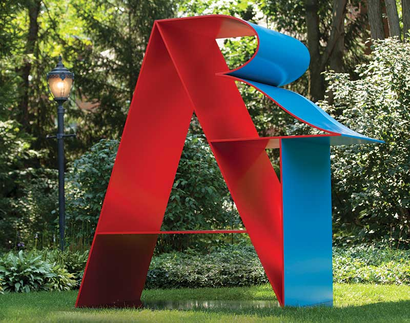 Photo of ART sculpture by Robert Indiana