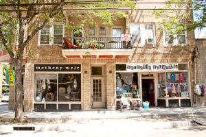 Storefronts in Shaker Heights' Larchmere District