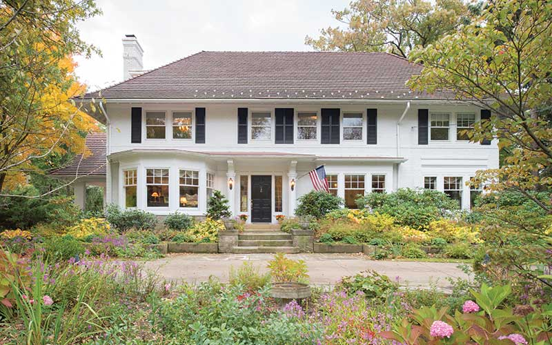 Shaker Heights home designed by architect Harry Shupe