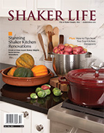 Cover of Oct-Nov 2013 issue of Shaker Life Magazine