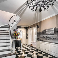 Foyer of a Shaker Heights home