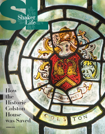Cover of Shaker Life Spring 2018
