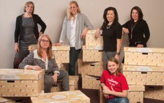 Babies Need Boxes Ohio volunteers