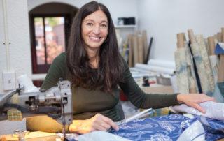 Janet Basnett, Owner of Cleveland Cushion