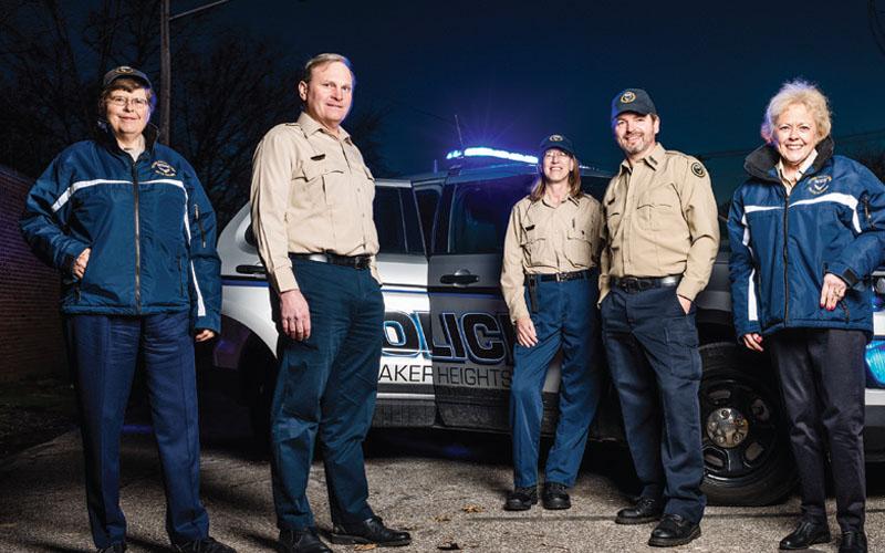 Citizens on Patrol: Margaret Hamilton, John Herrick, Jr., Allison Hart, Chris Ramsay, and Nancy Cockley.