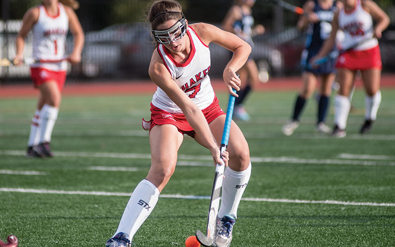 Shaker Heights High School field hockey player