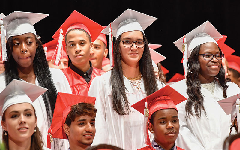 Shaker Heights High School graduation