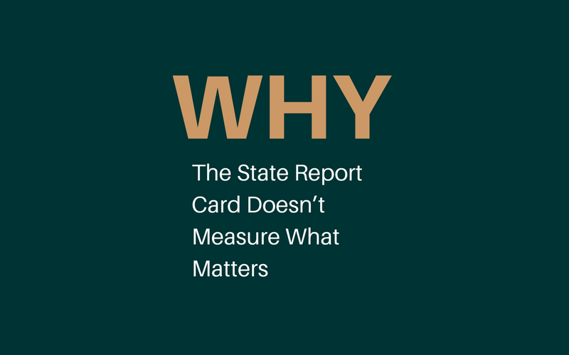 Why the State Report Card Doesn't Measure What Matters at Shaker Schools
