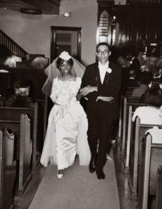 Leon and Marguerite Bibb wedding photo