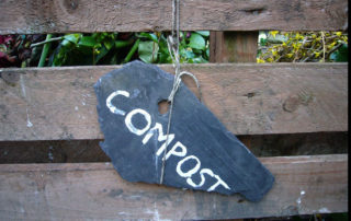 Sign reading compost