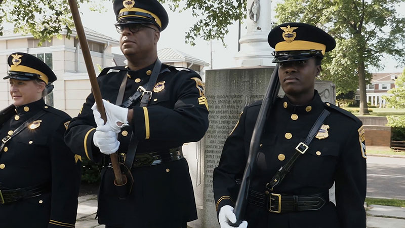 Honor Guard of the Shaker Heights Police Department