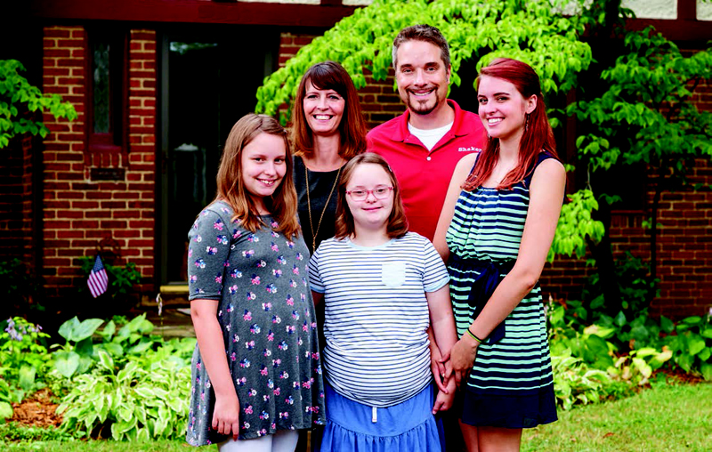 Jonathan Kuehnle and family