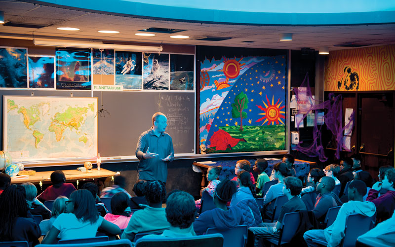 Shaker Heights High School Planetarium