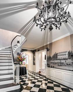 Foyer of Shaker Heights home