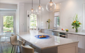 Modern kitchen in Shaker Heights, OH