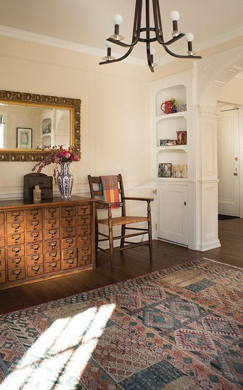 Living room in Shaker Heights, Ohio