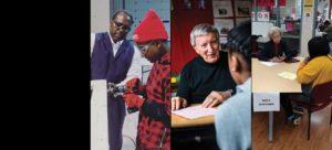 Composite photo of Shaker Schools volunteers