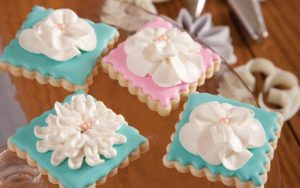 Frosted cookies by Sugar Arts Bakehouse