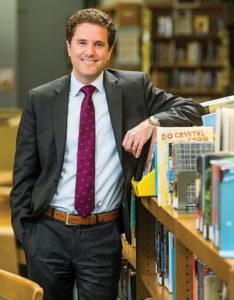 Shaker Middle School principal David Glasner