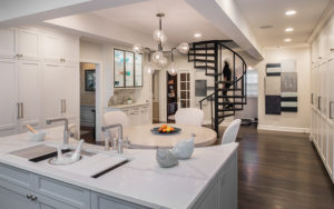 A renovated Shaker Heights kitchen.