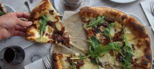 Genuine Pizza's Bacon Pizza