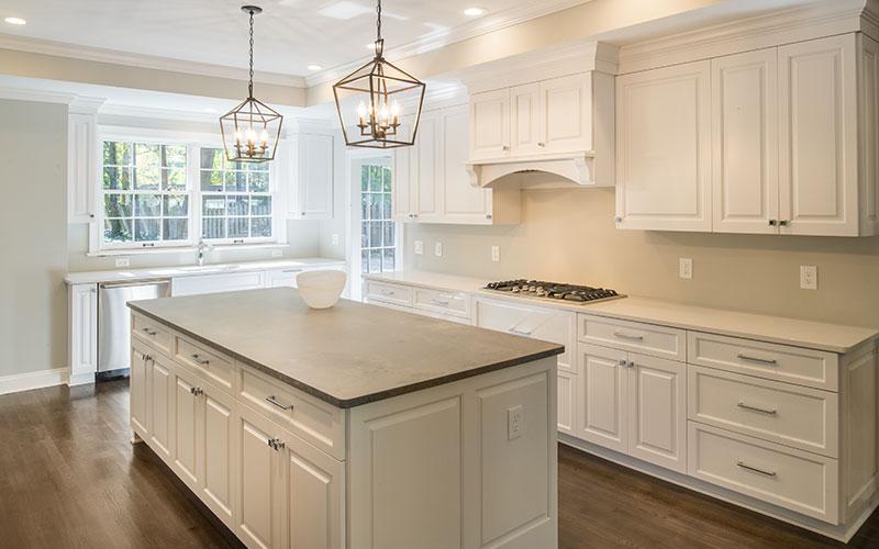 Colston house kitchen.