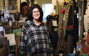 Tracey Hilbert, owner of Eclectic Eccentric