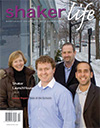 Cover of April-May 2011 issue of Shaker Life magazine