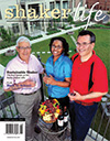 Cover of August-September 2008 issue of Shaker Life magazine