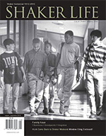 Cover of August-September 2012 issue of Shaker Life magazine