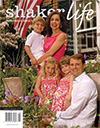 Cover of August-September 2010 issue of Shaker Life magazine