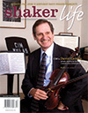 Cover of December-January 2008 issue of Shaker Life magazine