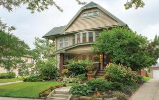 Home in the Moreland neighborhood of Shaker Heights, Ohio