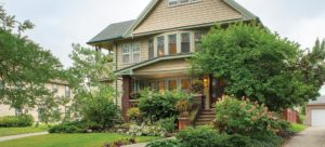 Home in the Moreland neighborhood of Shaker Heights