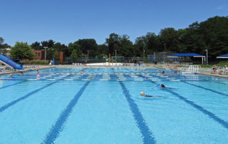 Thornton Park Pool in Shaker Heights, Ohio