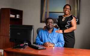 John and Ada Nworie, founders of Protem