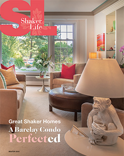 Cover of Shaker Life, Winter 2019