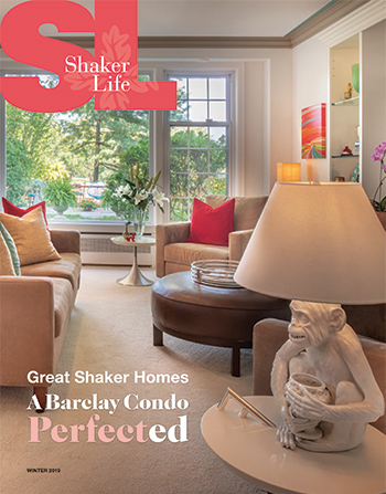 Cover of Shaker Life, Winter 2019 issue.