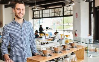 Mike Vehar of 3-19 Coffee