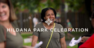 Still from Hildana Park Celebration video