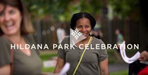 Still from Hildana Park Celebration video still