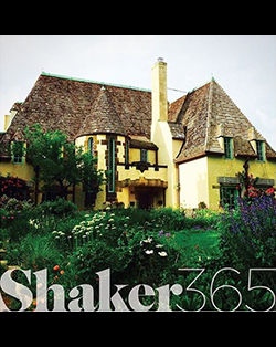 Shaker 365 advertisement with Shaker house