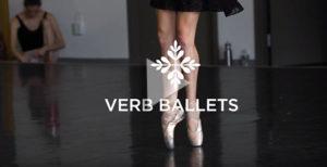 Video still from Verb Ballets video